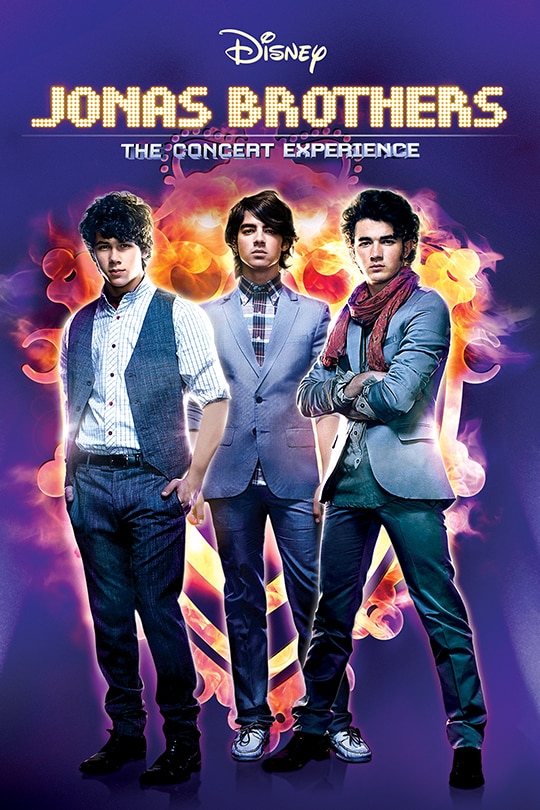 Jonas Brothers: The Concert Experience Movie Poster