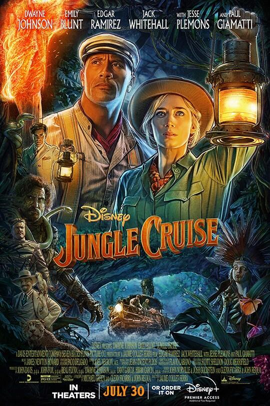 Disney | Jungle Cruise movie poster
