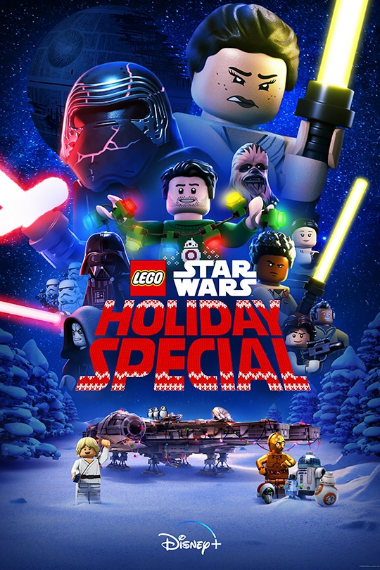 The LEGO Star Wars Holiday Special movie poster.