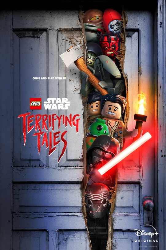 Come and play with us. | LEGO Star Wars | Terrifying Tales | Disney+ Original | movie poster