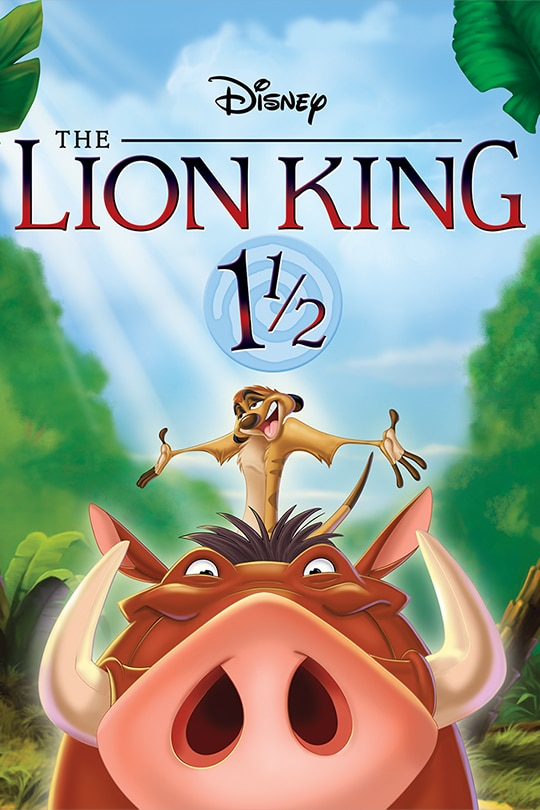 The Lion King 1½ movie poster