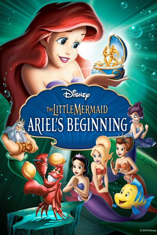The Little Mermaid: Ariel's Beginning movie poster