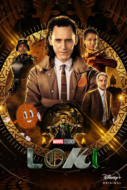 Marvel Studios | Loki | Disney+ Original | movie poster