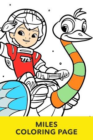 Disney Junior Coloring Pages | Disney LOL