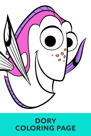 Finding Nemo Coloring Pages | Disney LOL