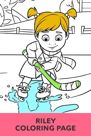 Riley Coloring Page