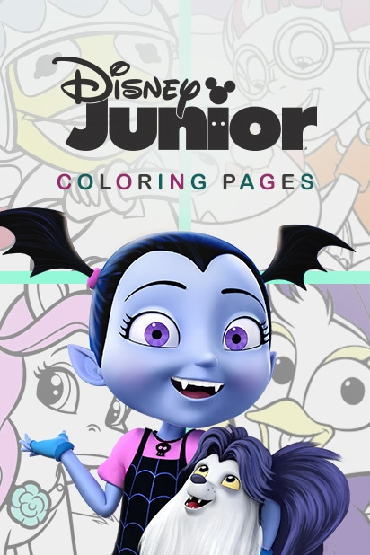 Category - Coloring Pages - Disney Junior