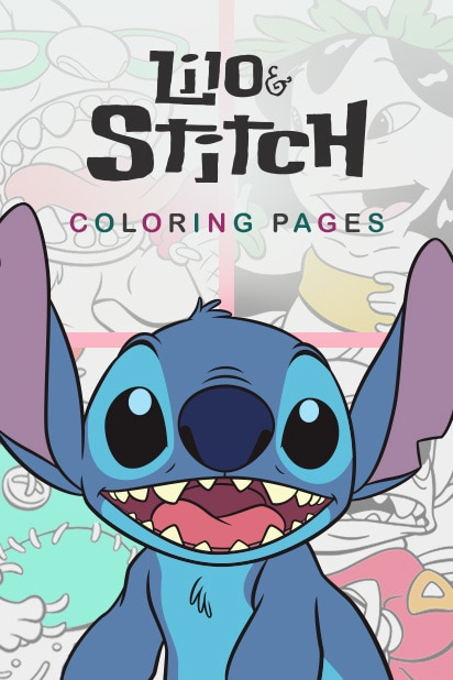 Category - Coloring Pages - Lilo and Stitch