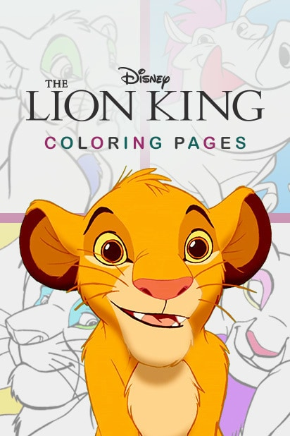 Category - Coloring Pages - The Lion King