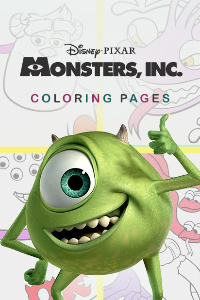 Monsters Inc Coloring Pages | Disney LOL