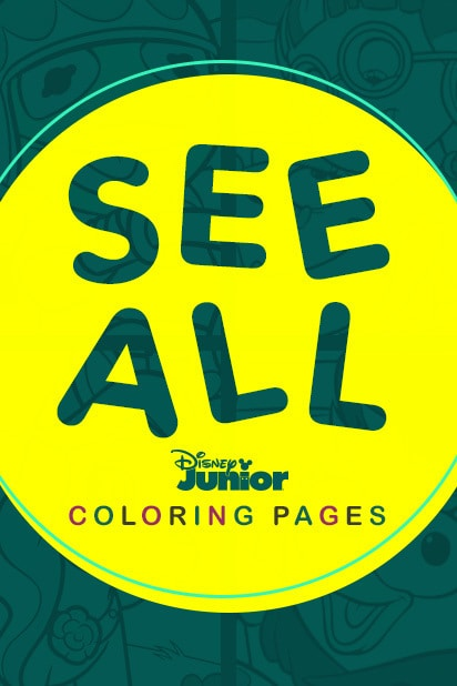 See All - Disney Junior Coloring Pages