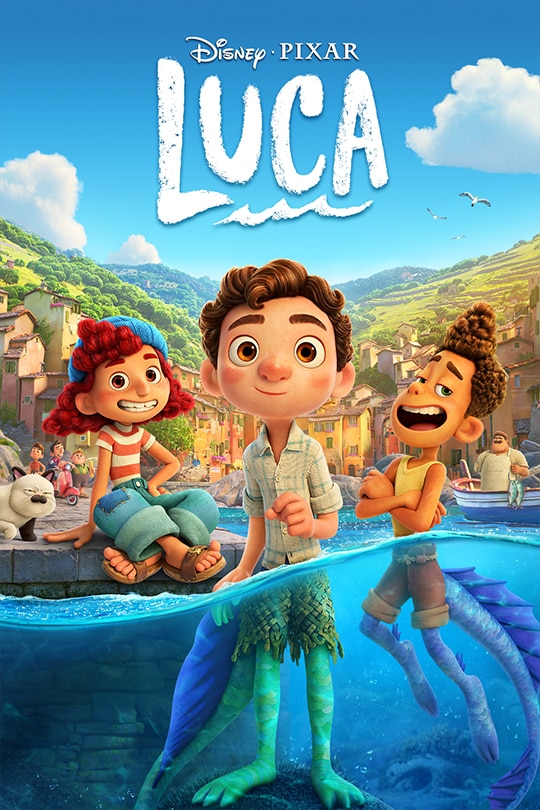 Disney•Pixar | Luca | movie poster