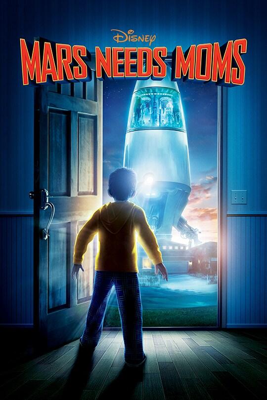 Mars Needs Moms movie poster