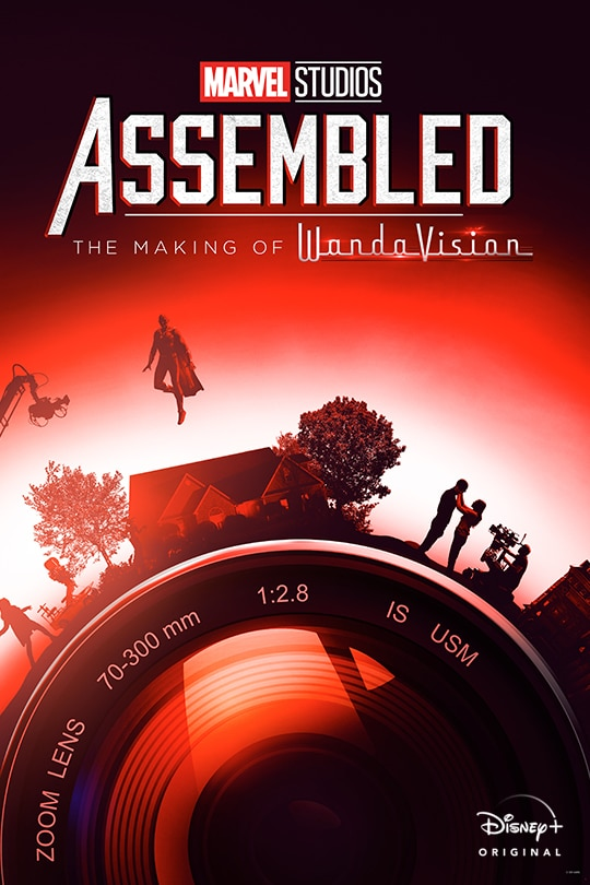 Marvel Studios Assembled: The Making of WandaVision poster