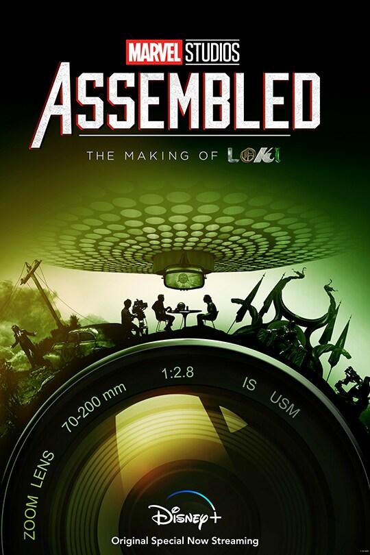 Marvel Studios: Assembled: The Making of Loki | Disney+ Originals | movie poster