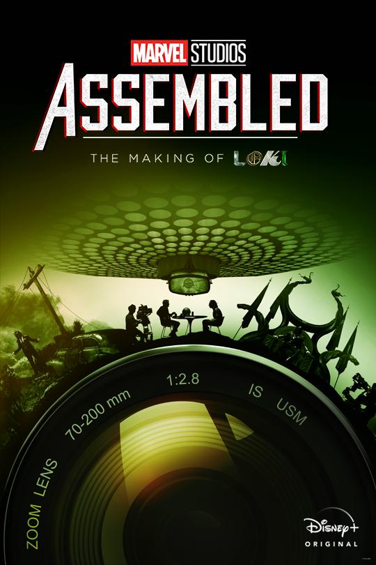 Marvel Studios Assembled: The Making of Loki poster
