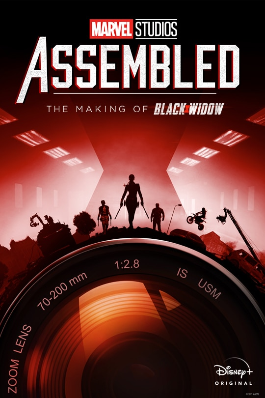 Marvel Studios Assembled: The Making of Black Widow poster