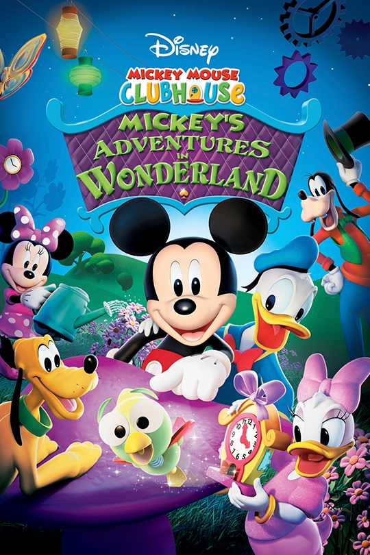 Disney Mickey Mouse Clubhouse: Mickey's Adventures in Wonderland movie poster