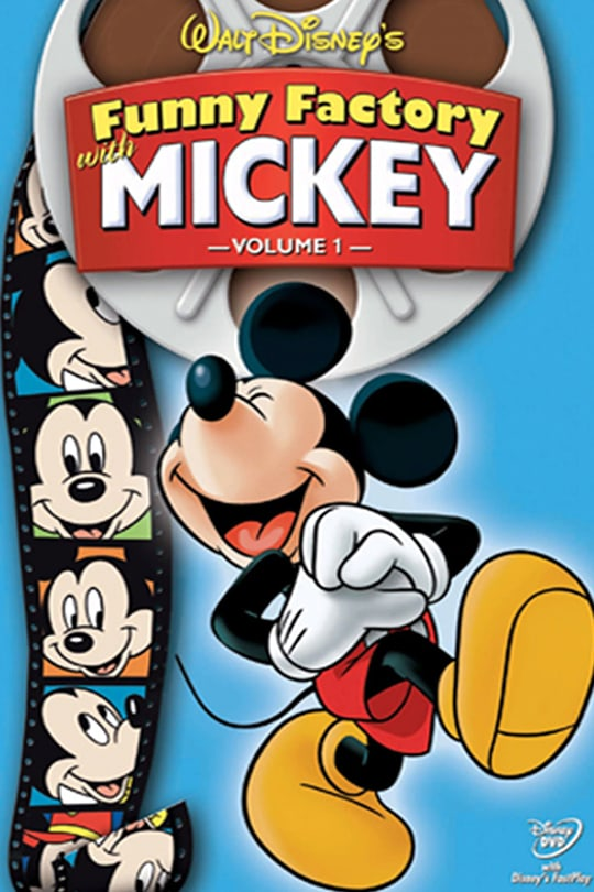 Walt Disney's Funny Factory with Mickey, Volume 1 poster