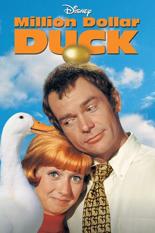 Disney Million Dollar Duck movie poster