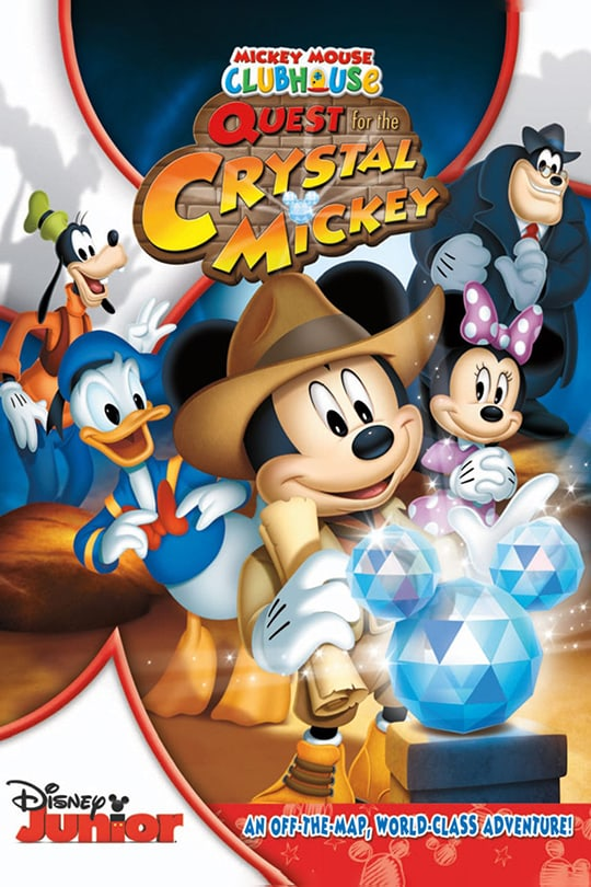 Mickey Mouse Clubhouse and the Quest for the Crystal Mickey | Disney Junior | movie poster