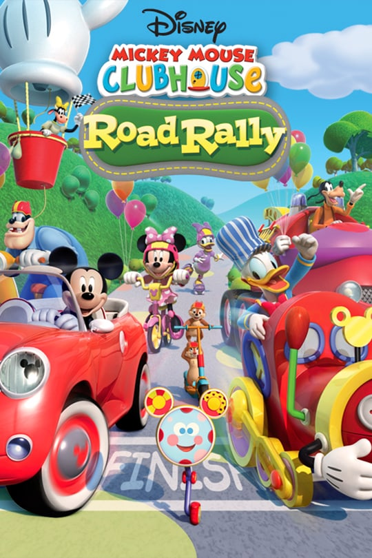 Disney Mickey Mouse Clubhouse Road Rally movie poster