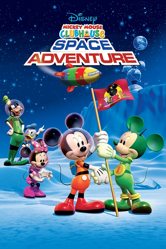 Disney Mickey Mouse Clubhouse: Space Adventure movie poster