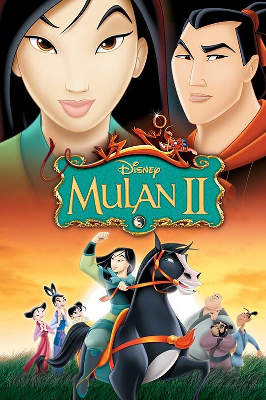 Mulan II movie poster