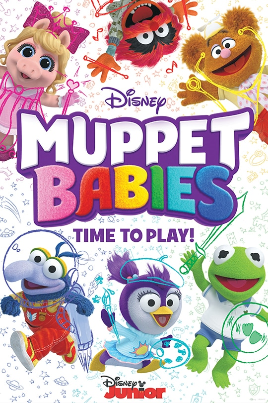 Muppet Babies Time To Play Poster