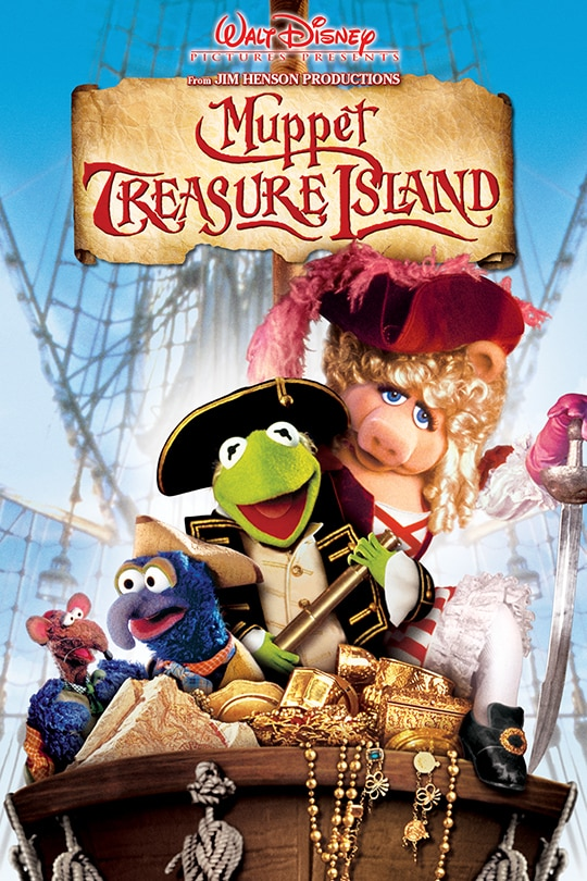 Walt Disney Pictures Presents from Jim Henson Productions Muppet Treasure Island