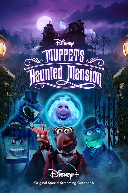 Disney | Muppets Haunted Mansion | Disney+ | Original Special streaming October 8 | movie poster