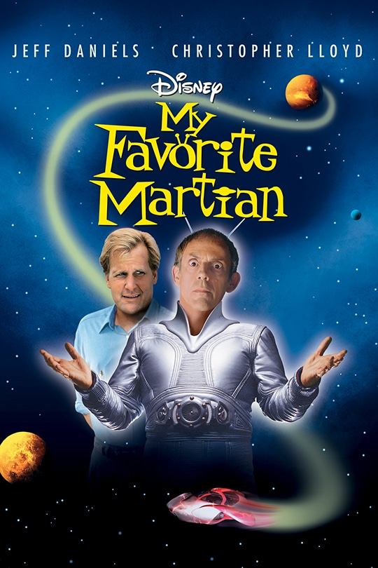 Disney | My Favorite Martian movie poster