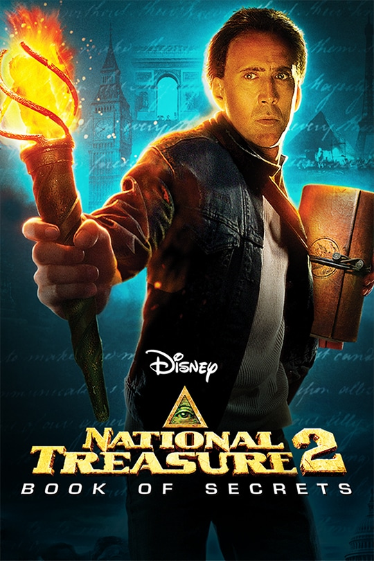 National Treasure 2: Book of Secrets movie poster