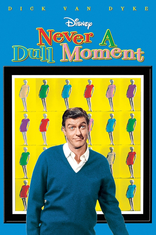 Dick Van Dyke | Disney | Never A Dull Moment Movie Poster
