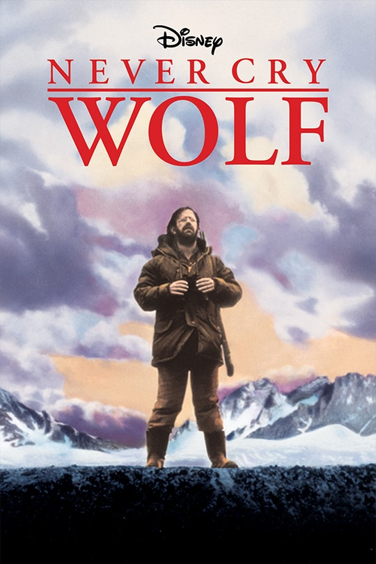 Disney Never Cry Wolf movie poster