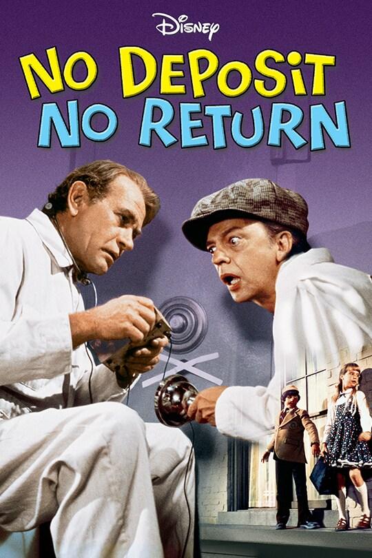 Disney No Deposit No Return movie poster