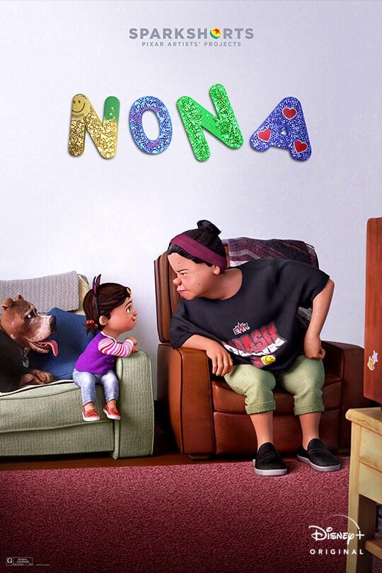 Pixar | SparkShorts | Disney+ Originals | movie poster of the SparkShorts short Nona