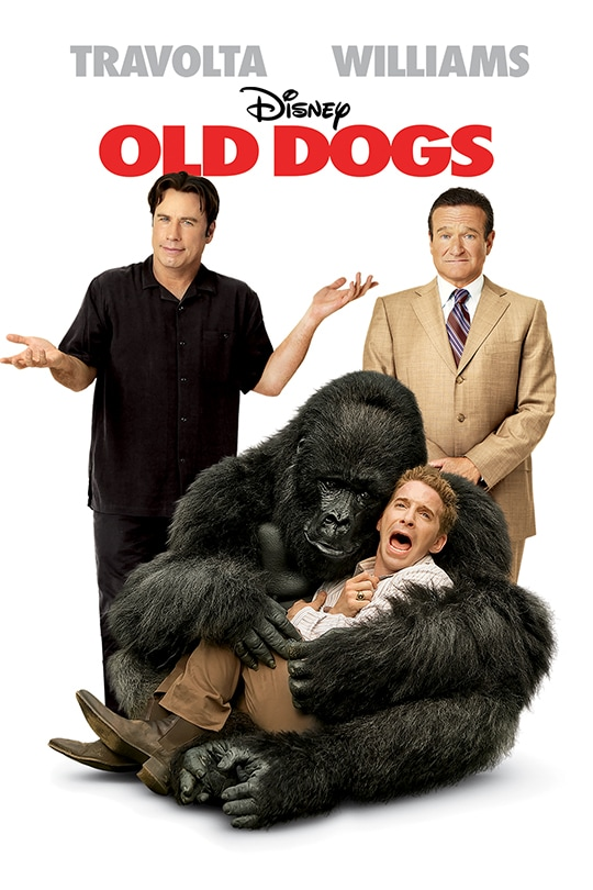 Travolta | Williams | Disney | Old Dogs poster