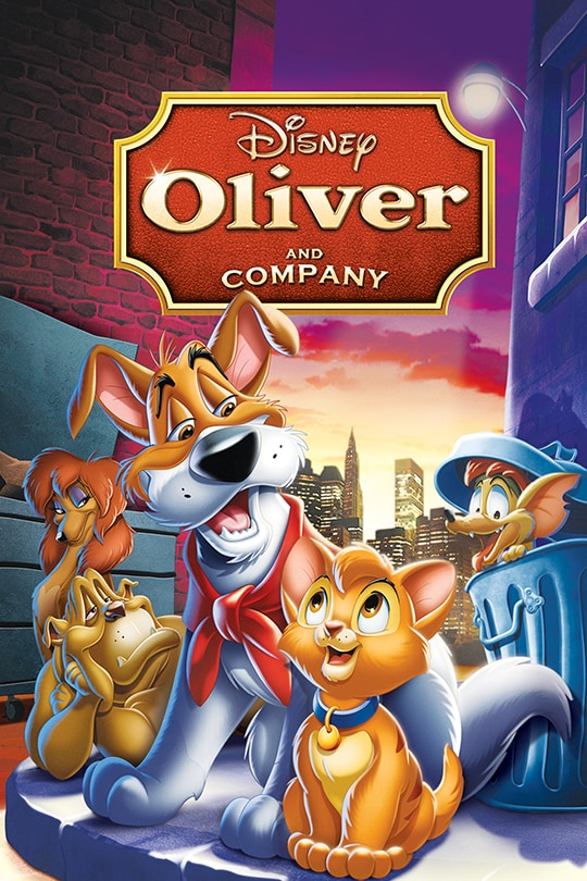 Oliver & Company poster