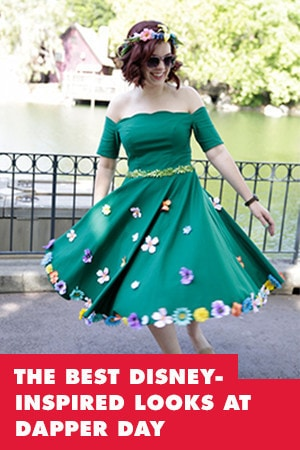 THE BEST DISNEY-INSPIRED LOOKS FROM SPRING DAPPER DAY AT THE DISNEYLAND RESORT