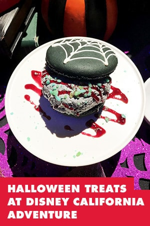 HALLOWEEN TREATS AT DISNEY CALIFORNIA ADVENTURE