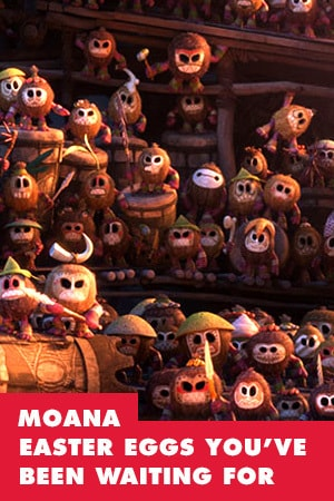 MOANA EASTER EGGS YOU'VE BEEN WAITING