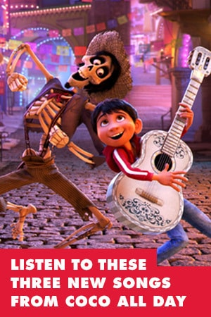 YOU'LL BE LISTENING TO THESE THREE NEW SONGS FROM COCO ALL DAY