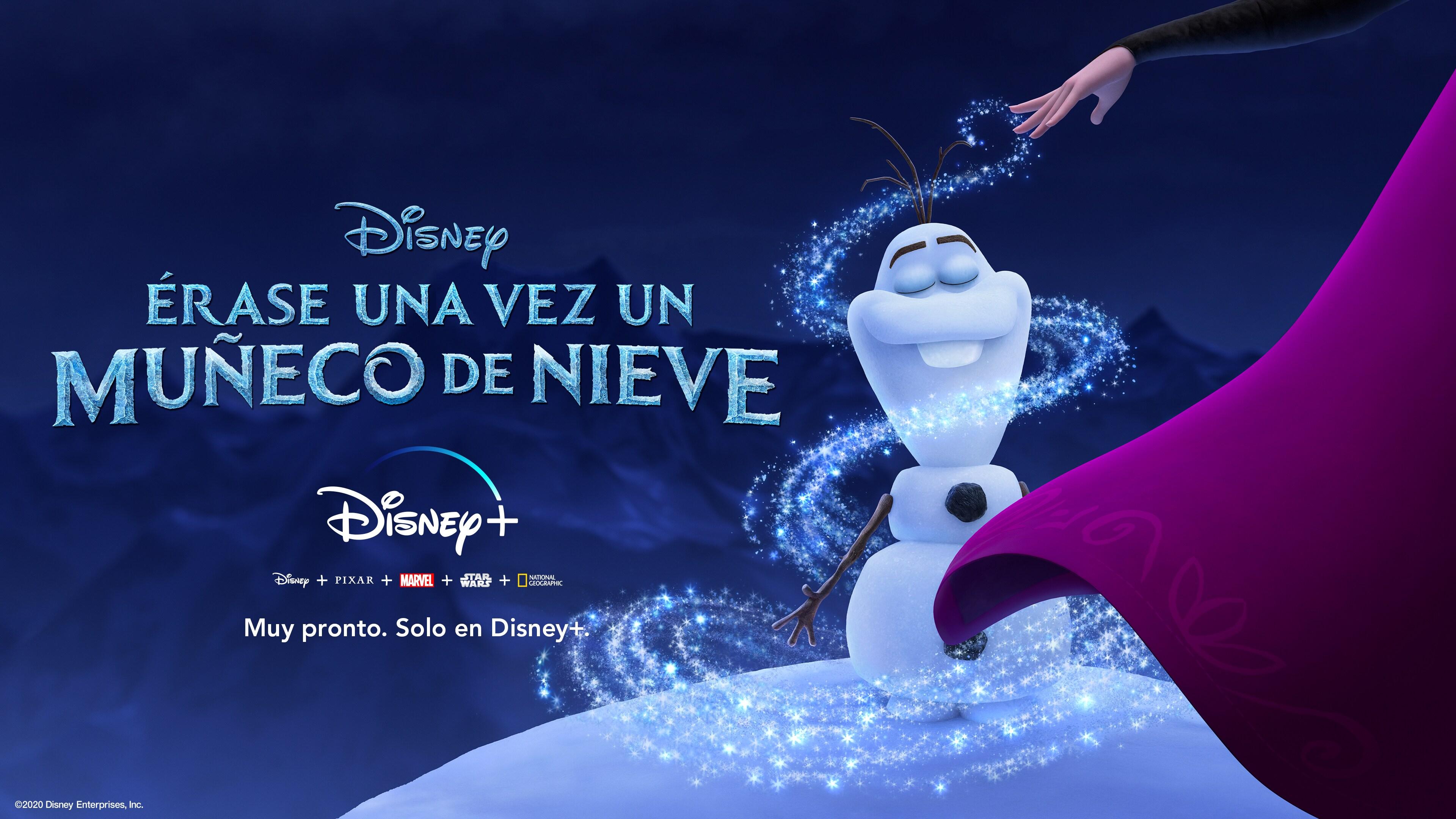 Érase una vez un Muñeco de Nieve | Disponible solo en Disney+