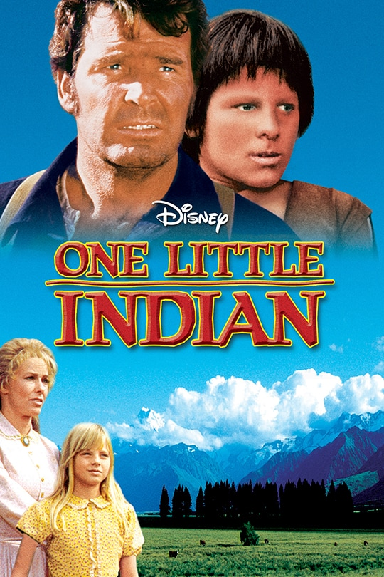 Disney One Little Indian Movie Poster