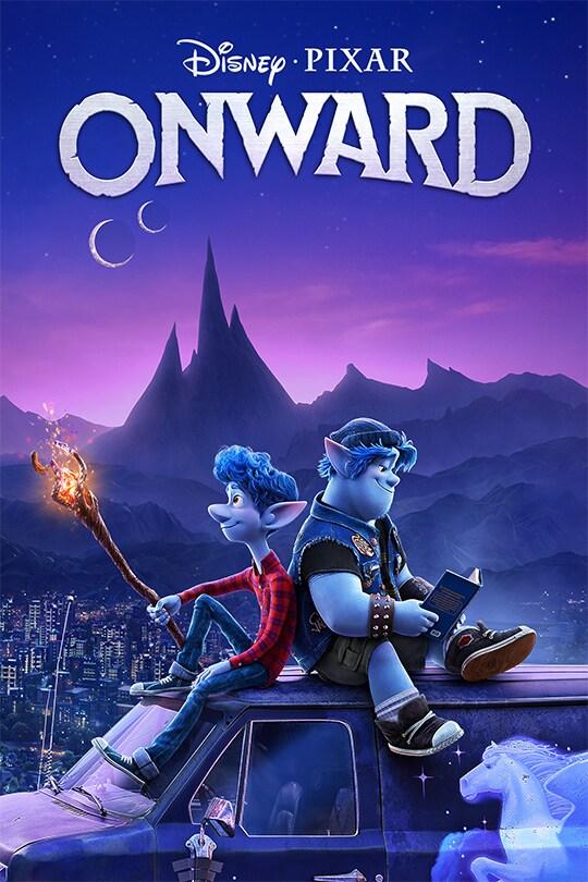 Disney•Pixar | Onward movie poster