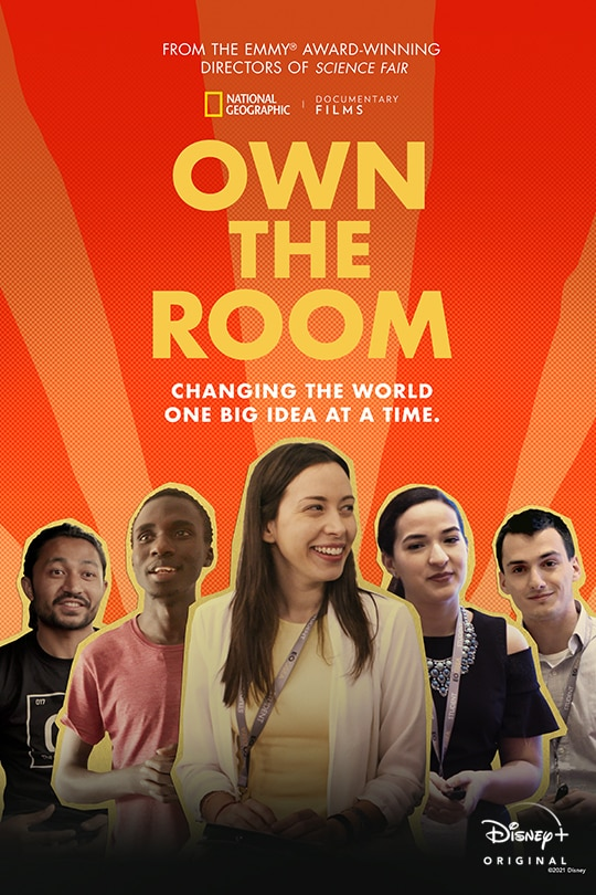 National Geographic Documentary Films | Own the Room | Changing the world one big idea at a time. | Disney+ Original Documentary | movie poster