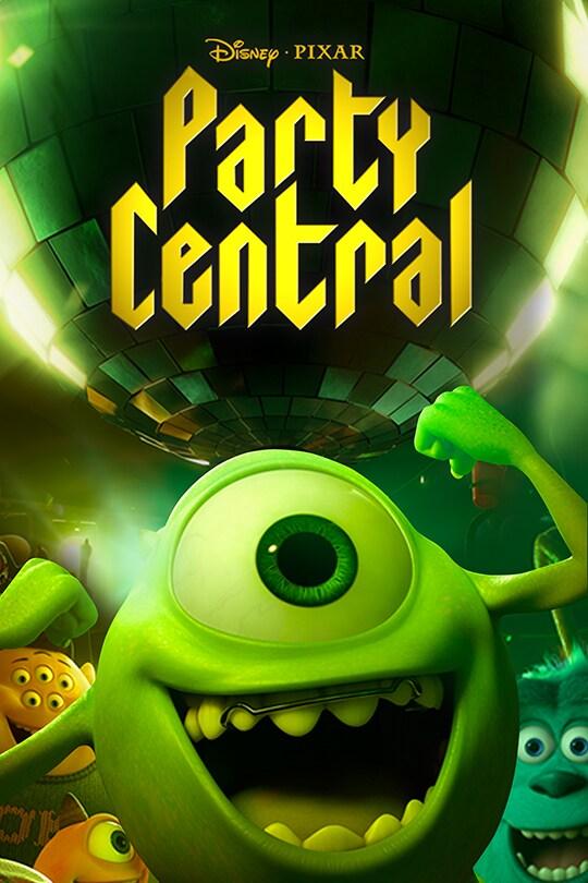 Disney•Pixar | Party Central movie poster