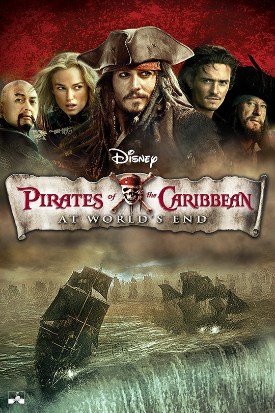 Pirates of the Caribbean: At World's End movie poster