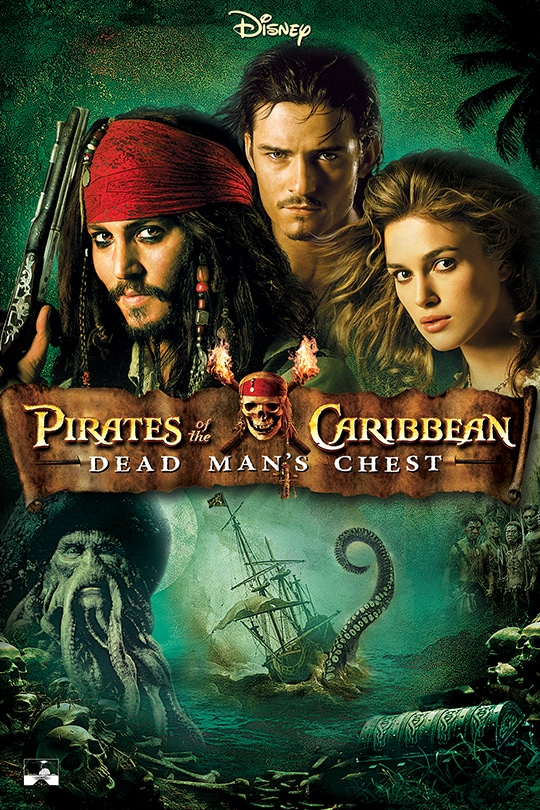 Disney | Pirates of the Caribbean: Dead Man's Chest movie poster